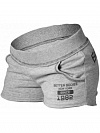 Better Bodies Rough Sweat Shorts, Grey Melange
