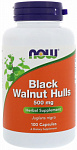 NOW Foods Black Walnut Hulls 500 mg