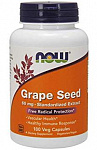 NOW Foods Grape Seed Standardized Extract 60 mg